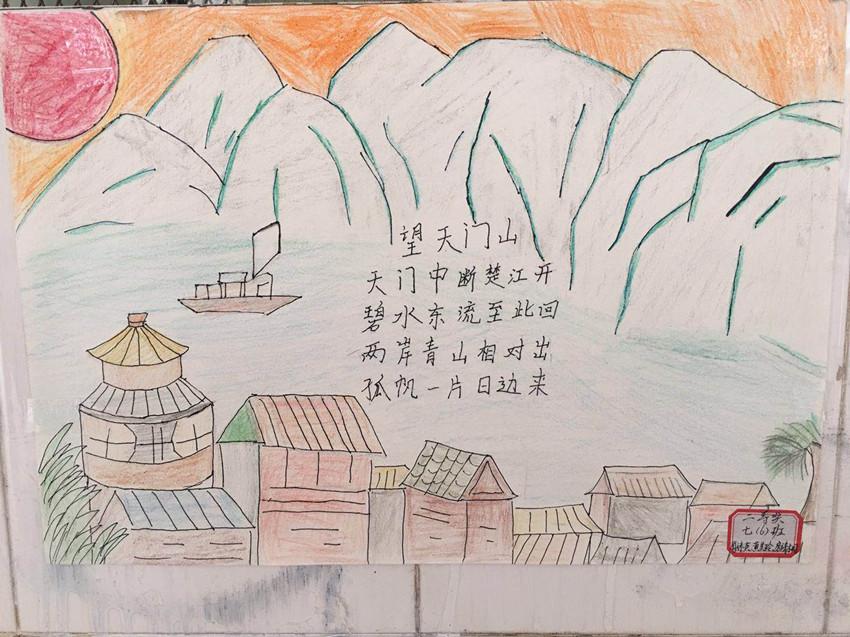美丽南宁儿童绘画作品